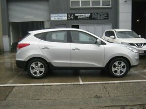2010 Hyundai ix35 LM MY11 Active Silver 6 Speed Sports Automatic Wagon Kippa-ring Redcliffe Area Preview