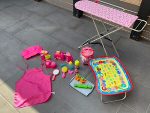 TOY FOLDING IRONING BOARD & ROLE PLAY TOYS