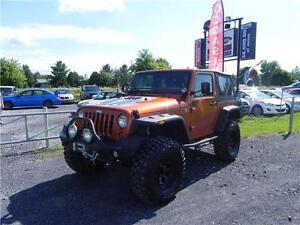 2011JEEP WRANGLER SPORT TRAIL RATED 4X4,40,000$ DE MODIFICATION