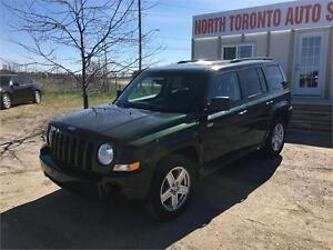 2010 JEEP PATRIOT NORTH - VALID E TEST - LOW KM - AUTOMATIC