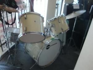 Procussion 5 piece drumset with stands and some symbols