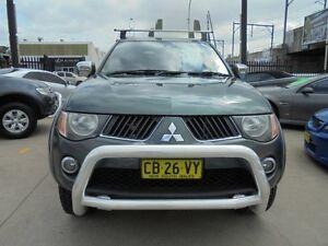 2009 Mitsubishi Triton ML MY09 GLX-R Green 5 Speed Manual 4D Utility Holroyd Parramatta Area Preview