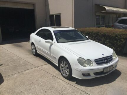 2005 Mercedes-Benz CLK280 C209 MY06 Elegance White 7 Speed Automatic G-Tronic Coupe Maroochydore Maroochydore Area Preview