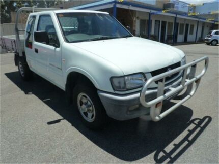 2002 Holden Rodeo TFR9 MY02 LT White 5 Speed Manual Crew Cab Pickup Wangara Wanneroo Area Preview