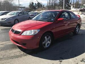 2004 Honda Civic Cpe Si-G ABSOLUTLEY NO RUST, BRAND NEW WINTERS