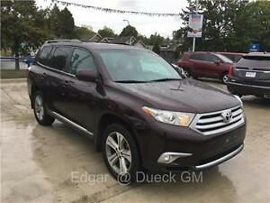2012 Toyota Highlander 68.000 km 4wd leather sunroof