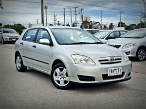 2005 Toyota Corolla ZZE122R 5Y Ascent Silver 4 Speed Automatic Hatchback Cheltenham Kingston Area Preview