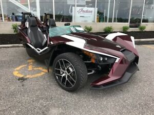 2017 POLARIS SLINGSHOT SL LE MIDNIGHT CHERRY / 69$/sem