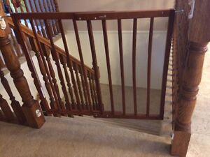 2 Safety First Wooden Gates