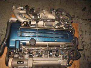 97 01 TOYOTA SUPRA ARISTO 2JZGTE VVTI ENGINE AUTO TRANS JDM 2JZ