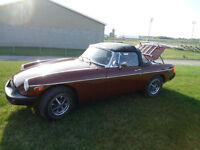 MG 1980 en tres bonne condition 5800.00$ neg.