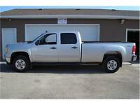 2011 GMC SLE 2500 H-D CREWCAB LONGBOX 4X4 216 KMS ONLY $18,900.