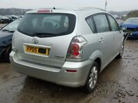 TOYOTA COROLLA VERSO 1.8 2006 BREAKING FOR SPARES TEL 07814971951 HAVE FEW IN STOCK