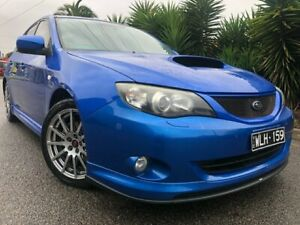 2008 Subaru Impreza MY08 WRX (AWD) Blue 5 Speed Manual Hatchback Hoppers Crossing Wyndham Area Preview