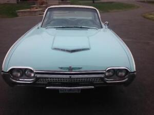 *REDUCED PRICE/1962 FORD THUNDERBIRD*MUST GO