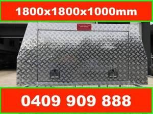 """""""ALUMINIUM UTE CANOPY 1800 x 1800 x1000mm, 3 Doors"""