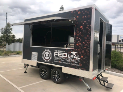 Food trailer coffee mobile van Tullamarine Hume Area Preview