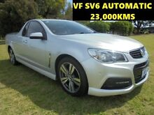 2013 Holden Ute VF 23,000KMS SV6 Silver 6 Speed Automatic Utility Wangara Wanneroo Area Preview