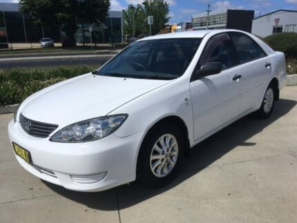 2005 Toyota Camry MCV36R Altise White 4 Speed Automatic Sedan Fyshwick South Canberra Preview