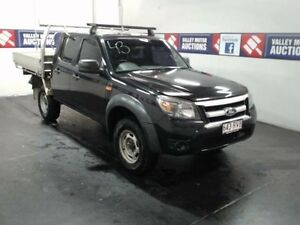 2011 Ford Ranger PK XL (4x2) Black 5 Speed Manual Dual Cab Chassis Cardiff Lake Macquarie Area Preview