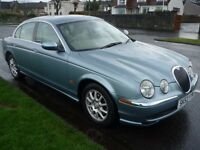 Jaguar S-Type 2003 2.5 V6 Automatic Only 69,000 Miles Service History With Years MOT & Spare Key
