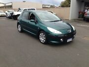 2006 Peugeot 307 XS Green Manual Hatchback Bunbury Bunbury Area Preview