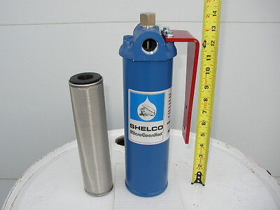 New 40 Micron Cleanable Ammunition Oil Filter,Waste Oil, Heaters,Burners,Furnace,WVO