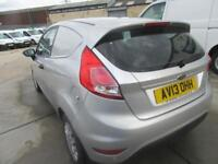 Ford Fiesta 1.6 TDCI ECONETIC TECH VAN - DIESEL MANUAL SILVER (2013)