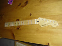 Fender Stratocaster neck. Been previously used but in good condition