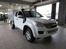 2016 Isuzu D-MAX SX Splash White Automatic EXTRA CAB/CHASSIS Thornleigh Hornsby Area Preview