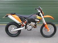 KTM 250 EXCF 2009 ENDURO ROAD REGISTERED ELECTRIC START MX MOTOCROSS BIKE