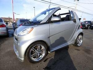2009 SMART FORTWO BRABUS CABRIOLET (95000 KM, CUIR, MAGS, FULL!)
