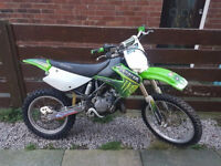 2006 kx 85 big wheel mint cond mint runner new piston with proof MAY PX 125 PLUS ££££.