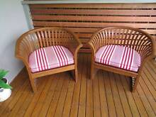 Outdoor Timber Teak furniture set Chairs and table Hurstville Hurstville Area Preview