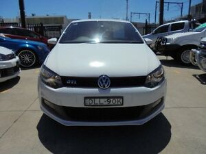2010 Volkswagen Polo 6R MY11 GTi White 7 Speed 7 Sports Automatic Dual Clutch Hatchback Holroyd Parramatta Area Preview