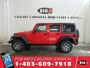 2017 Jeep Wrangler Unlimited, RUBICON, tow pack, alpine sound