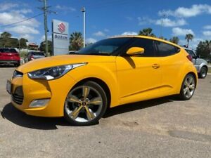 2012 Hyundai Veloster FS2 + Coupe D-CT Yellow 6 Speed Sports Automatic Dual Clutch Hatchback Beresford Geraldton City Preview