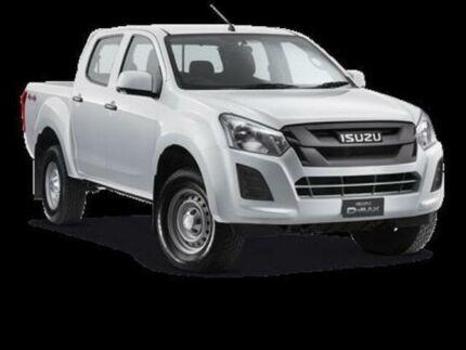 2017 Isuzu D-MAX TF MY15.5 SX HI-Ride (4x4) Splash White 5 Speed Automatic Crew Cab Utility