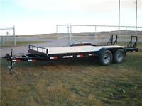 SOUTHLAND 18 FT EQUIPMENT HAULER *14K GVWR* TAX IN $5425.00