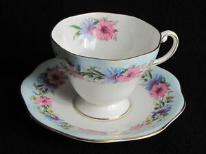 Many Tea Cups and Saucers
