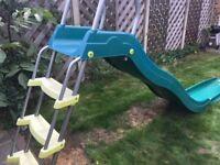Slide with stepset, green