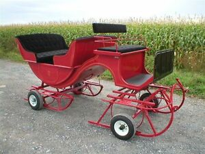 Carriages , wagon, sleighs , carts all new made to order! Sarnia Sarnia Area image 10