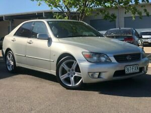 2001 Lexus IS GXE10R IS200 Sports Luxury Silver 4 Speed Automatic Sedan Garbutt Townsville City Preview