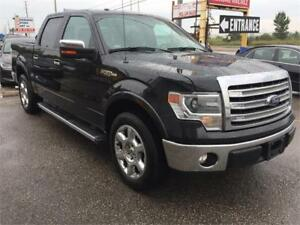 2013 Ford F-150 Lariat|NAVI|LEATHER|SUNROOF|BLK ON BLK|