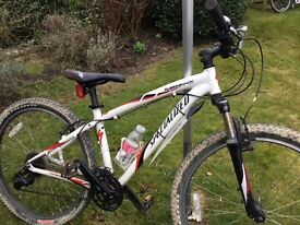 """Specialised Hard Rock Mountain bike 26"""" Wheel, good condition, was £350 new in 2010, hardly used."""