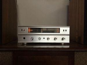 Rare Vintage Trio Kenwood KW 22 Tube Stereo Receiver Amp
