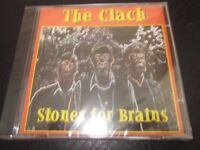 """""""Stones for Brains"""" CD by The Clach - Inverness Folk group. Still in Cellophane wrapper."""