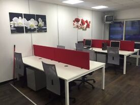 SELF CONTAINED OFFICES - REFURBISHED - BRIDGEND TOWN CENTRE - EASY IN/OUT - NO COMMITMENTS