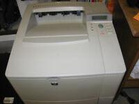 Laser printer HP 4100tn A4 mono needs attention
