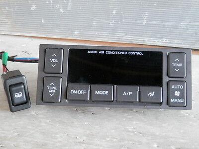 1996 2001 JDM NISSAN CIMA Y33 Q45  REAR AUDIO AC CLIMATE CONTROL FACTORY OEM